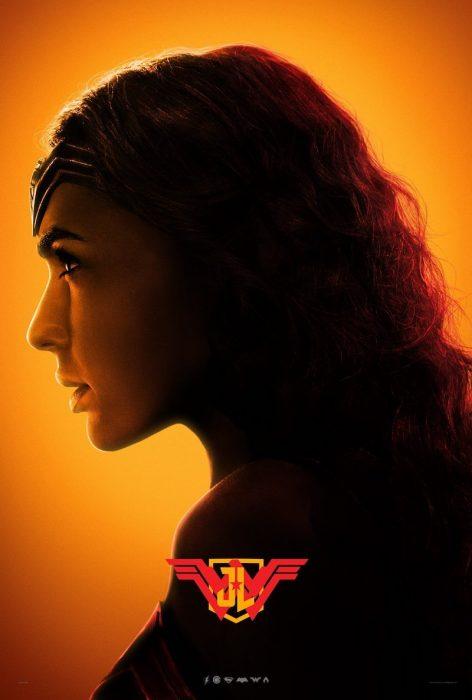 Cartel de la Mujer Maravilla