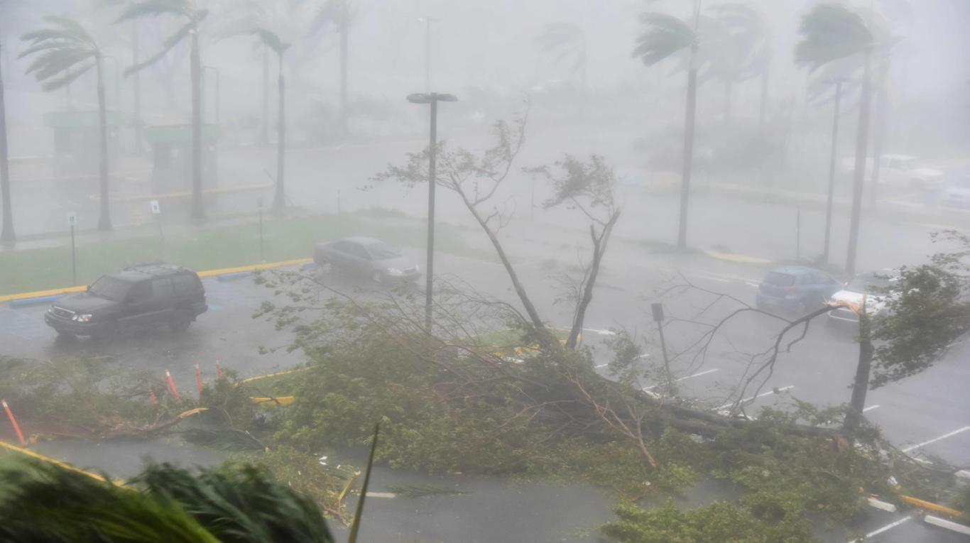 El hurac n mar a deja destrucci n en su paso por puerto rico - Puerto rico huracan maria ...