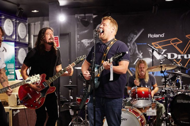 foo fighters james corden