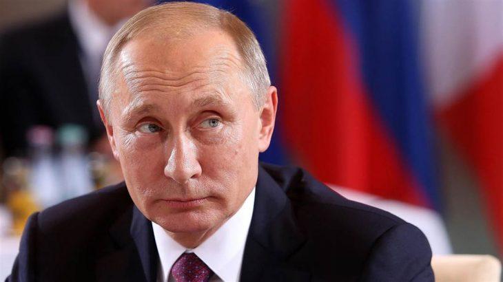 Vladimir Putin close up