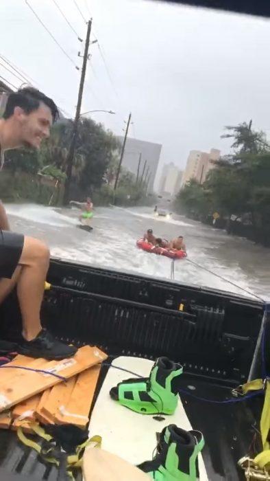 wakeboarding huracán irma