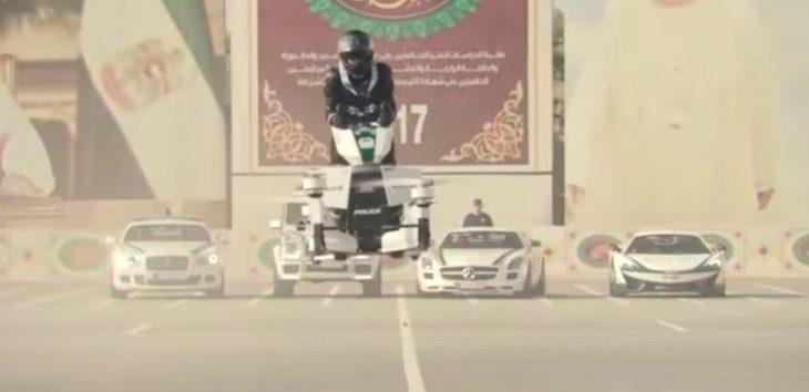 Hoverbike policía Dubai