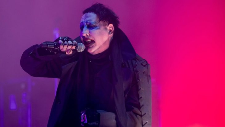 marilyn manson sufre accidente