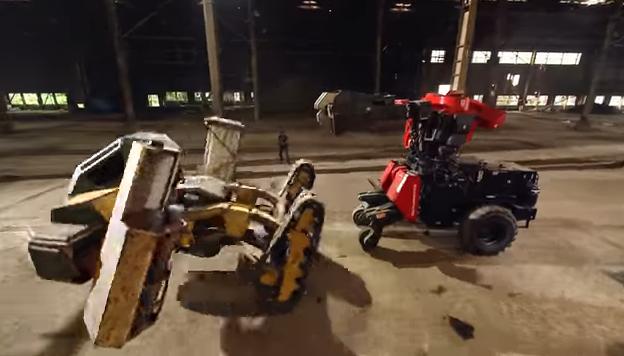 pelea robots