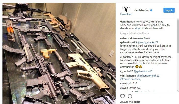 Dan Bilzerian tiroteo Vegas