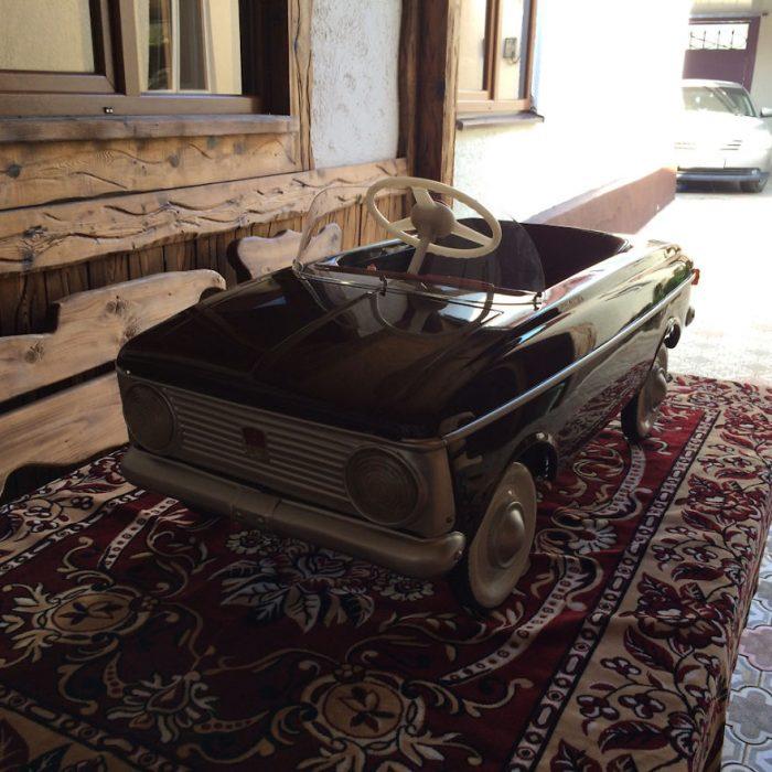 carrito resturado