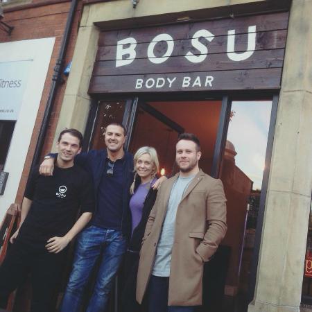 Bosu Body Bar