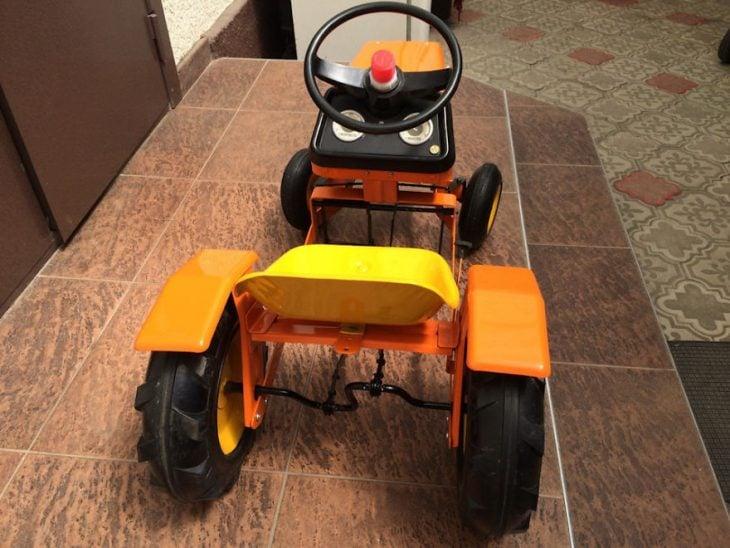 tractor restaurado