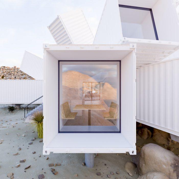 Casa hecha con contenedores