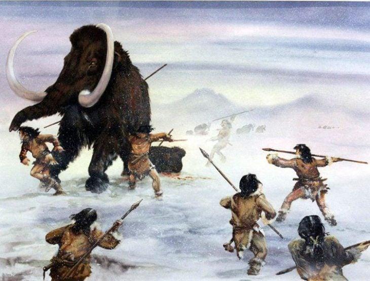 cazar mamuts