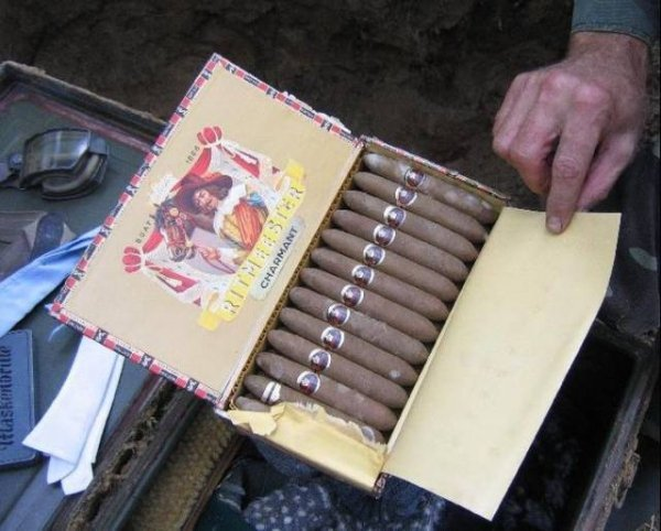 Cigarros de soldado nazi