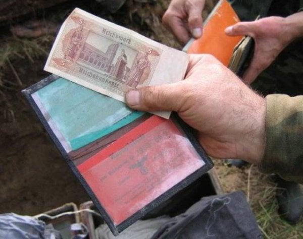Dinero de soldado nazi