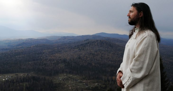 Hombre ruso que dice ser Jesucristo