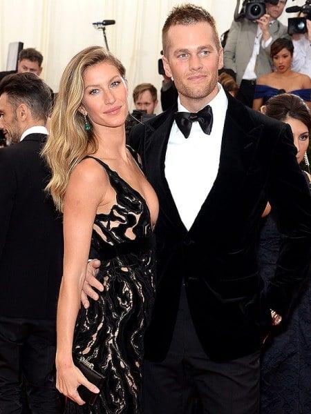 Tom Brady y Giselle Bundchen