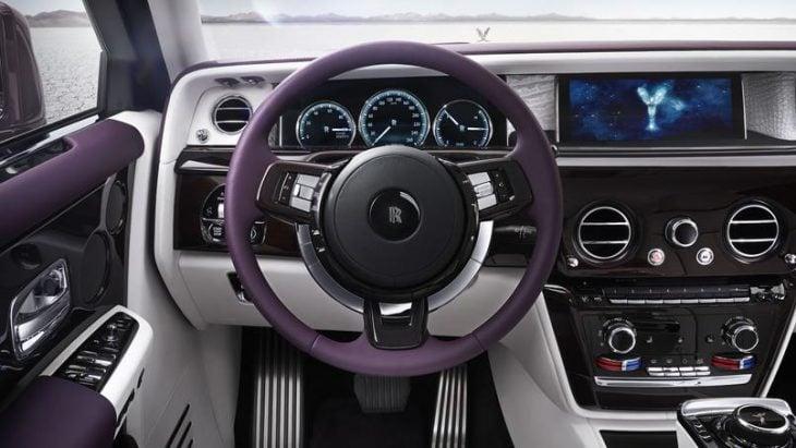 Interior Rolls-Royce Phantom 2018