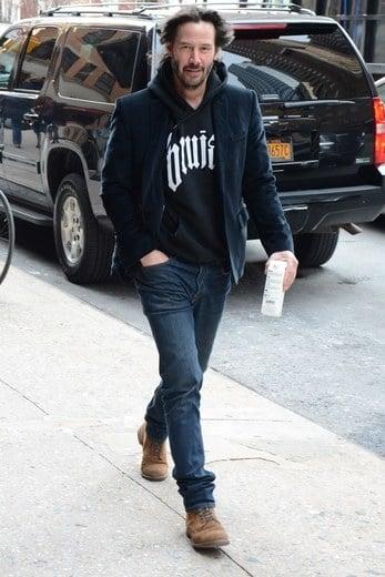 Keanu Reeves y su vestimenta