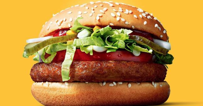 McVegan en McDonald's