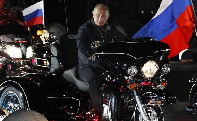 putin motocicleta