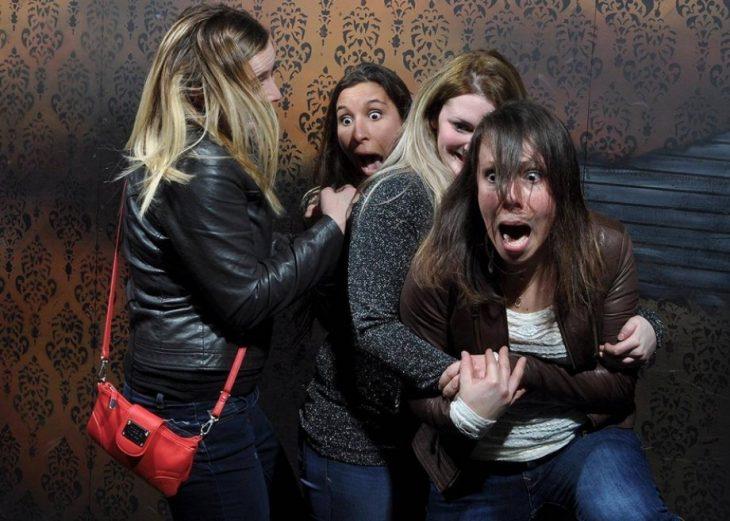asustado casa terror