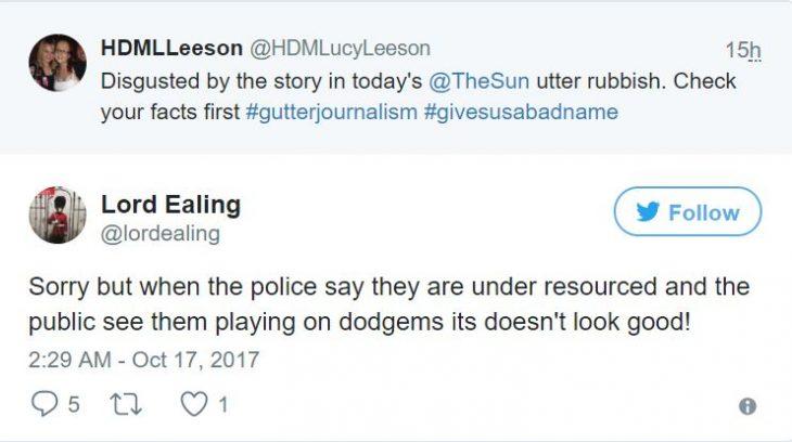 policias divirtiendose