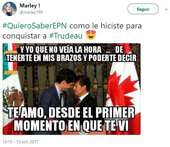 Memes Peña Nieto Trudeau
