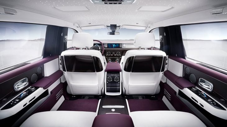 Interior Rolls-Royce Phantom 2018