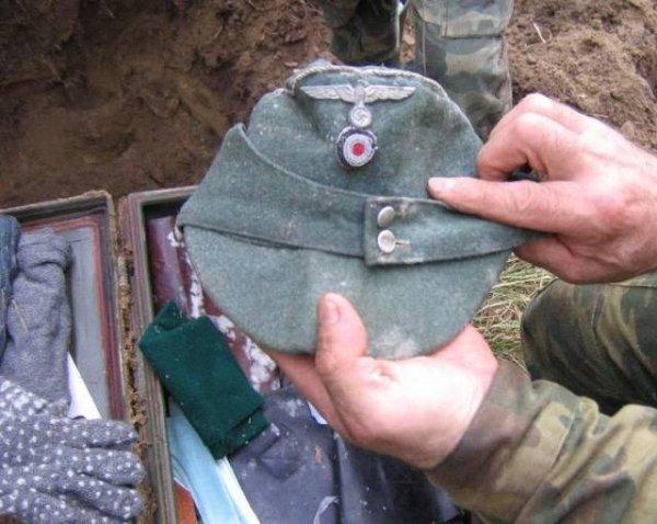 Gorra de soldado nazi