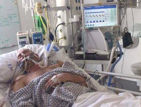 Tony Kemp en el hospital