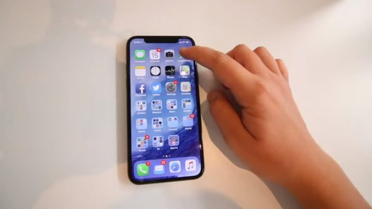enseña iphone x despiden a su padre
