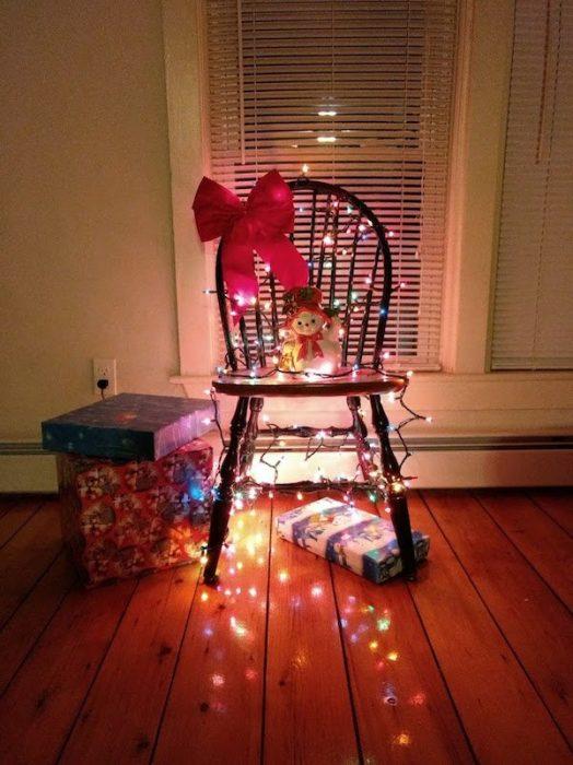 silla navidad