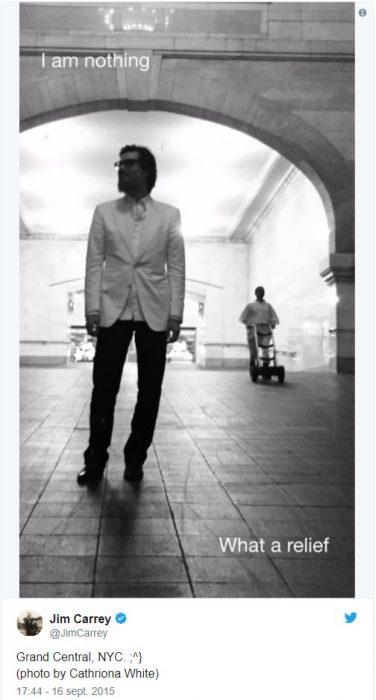 Jim Carrey Depresión