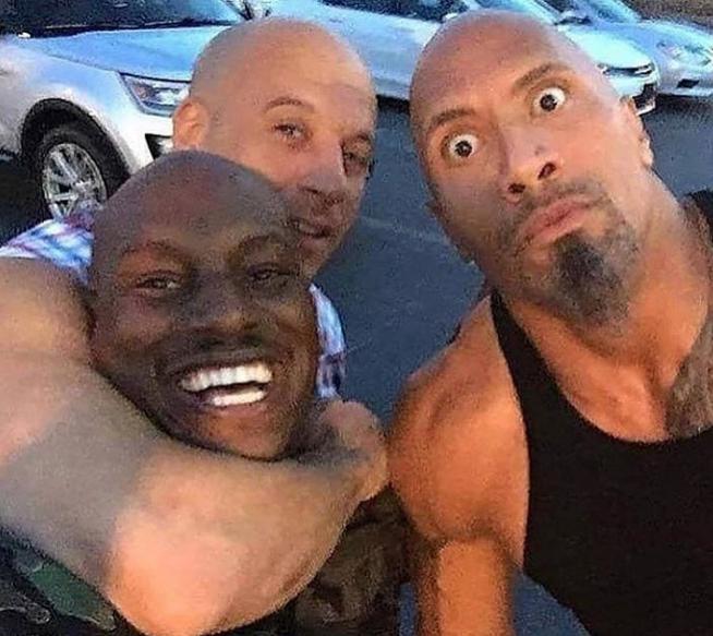 la roca y amigos