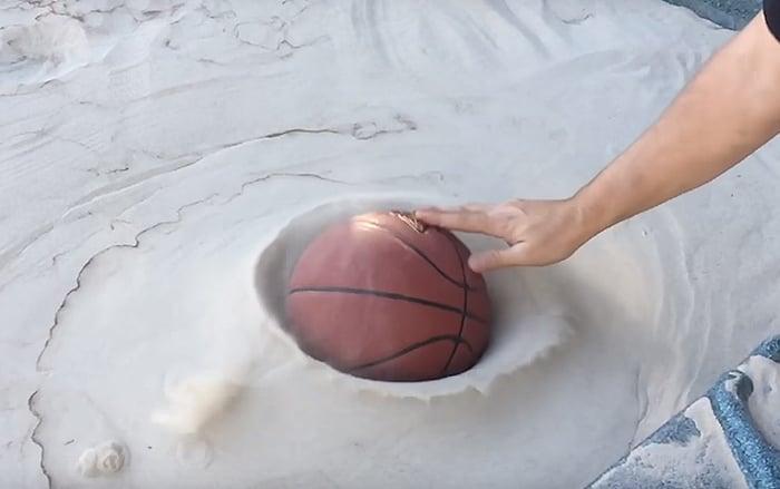 arena líquida