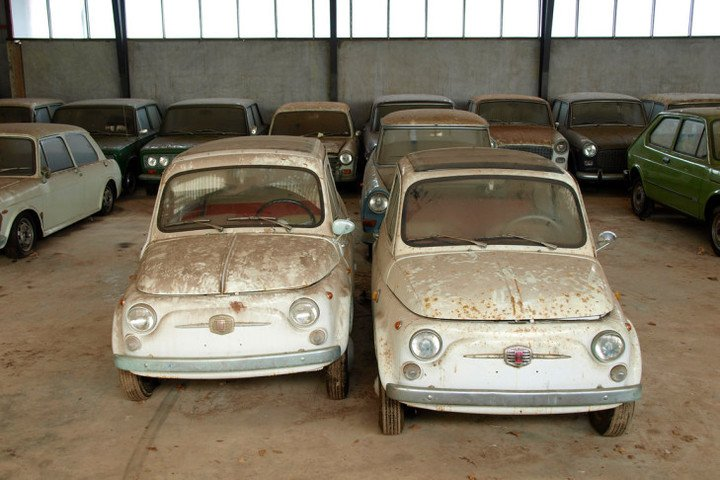 Autos abandonados