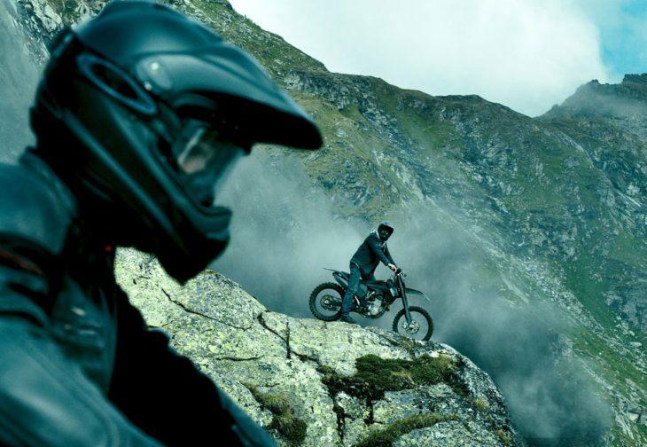 Motociclistas en montaña