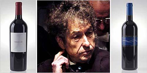 Bob Dylan con vinos