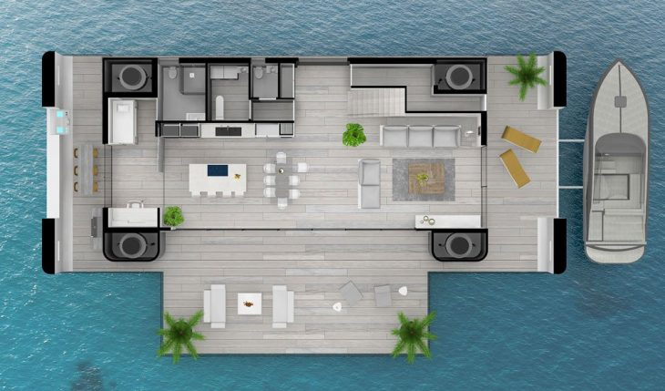 arkup casas flotantes