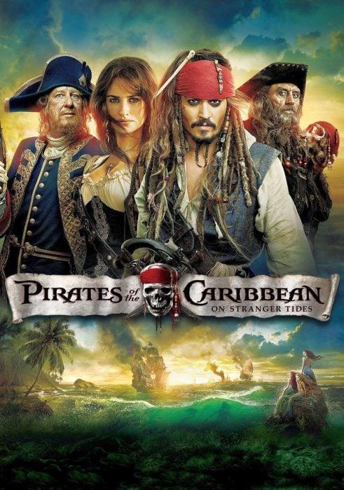 Poster de Piratas del Caribe