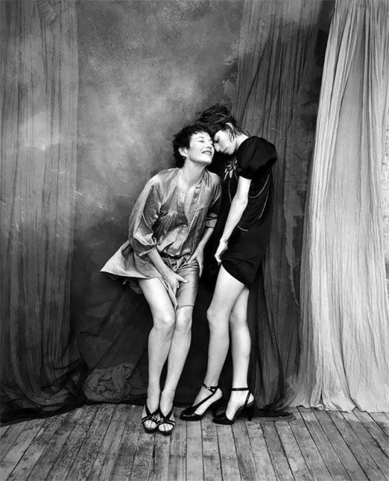 Fotografías de Katy Barry en blanco y negro