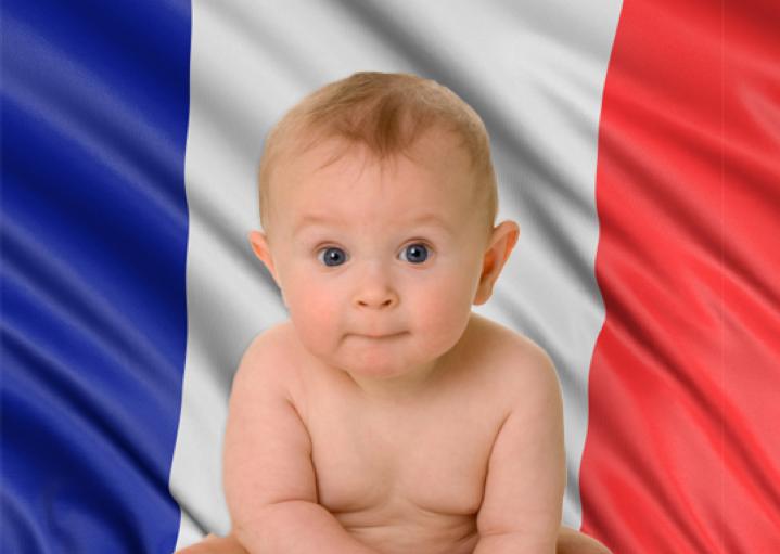 Niño francés