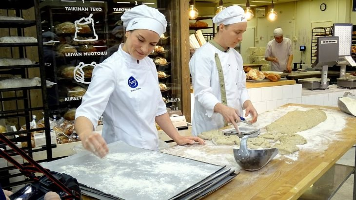 Panaderos en Finlandia
