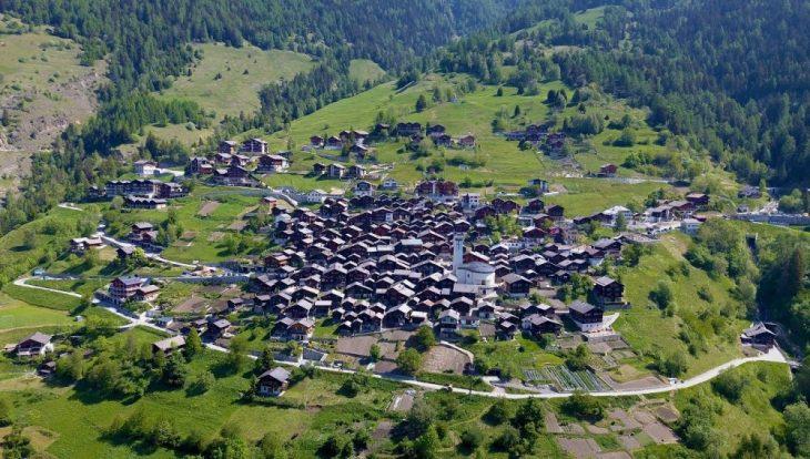 Albinen, pueblo en Suiza