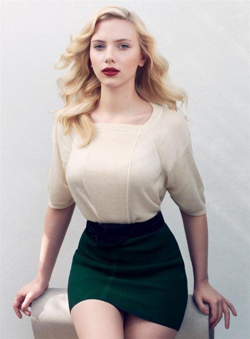 Scarlet Johansson rubia