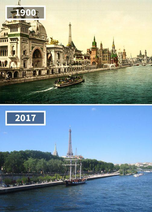 Quai Des Nations, París, Francia, 1900 - 2017