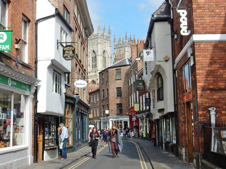 Calles de York, Reino unido