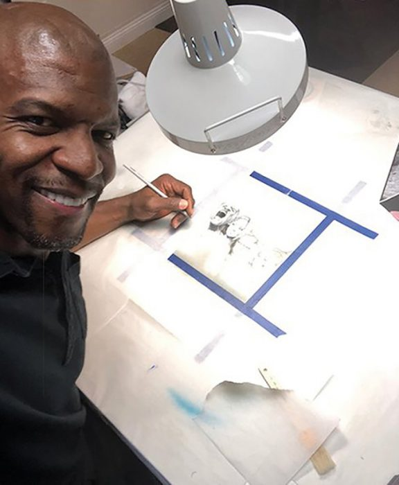 terry crews ilustrador