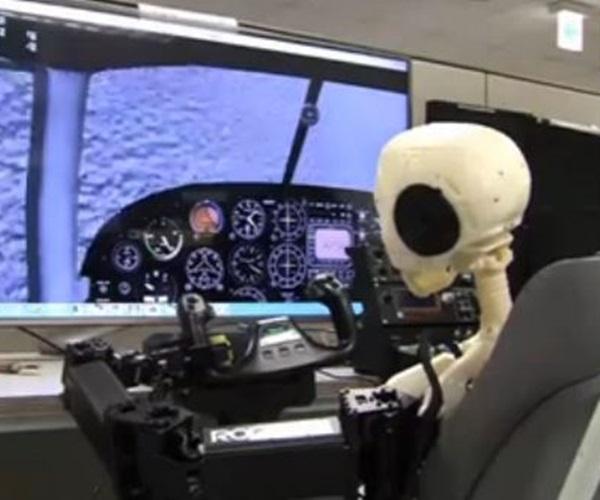 piloto comercial robot
