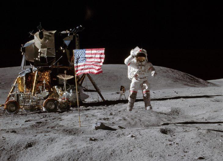 espacio luna