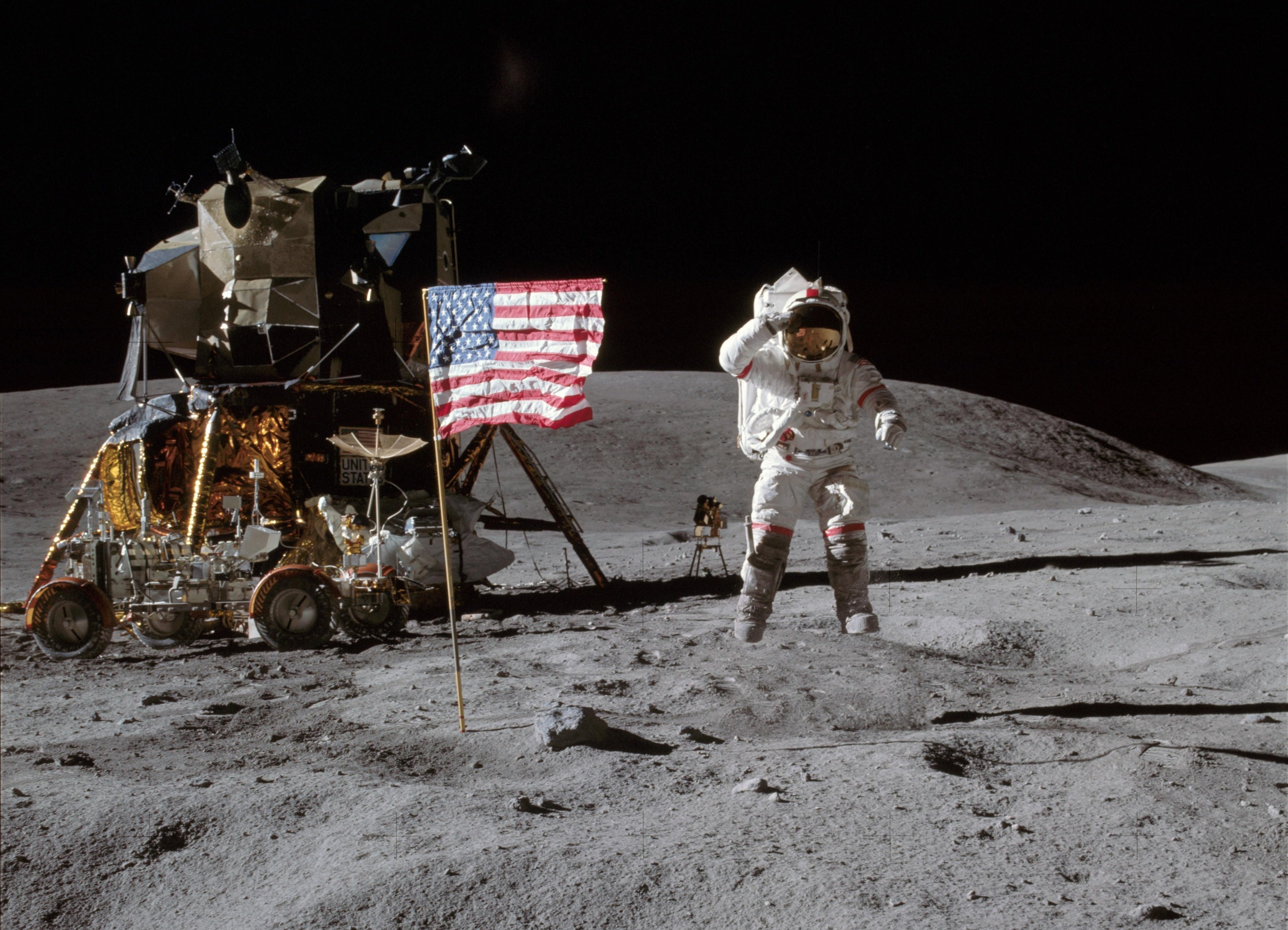moon landing hoax - HD1600×1200