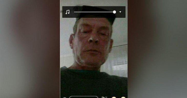 ladron se toma selfie